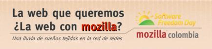 Charla «La web que queremos… ¿La web con Mozilla?» en SFD Bogotá